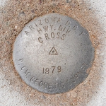 AZDOT Survey Disk CROSS