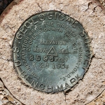 USGS Bench Mark Disk K 28