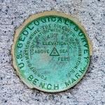 USGS Bench Mark Disk TT 43 T